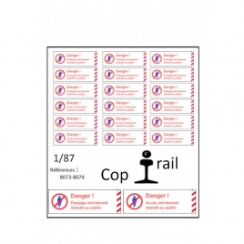 Signalétique Ho 8073-8074