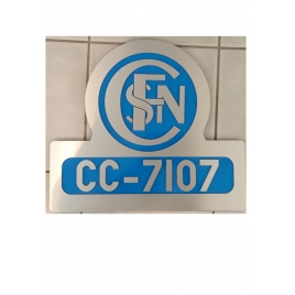 CC 7107 logo frontal