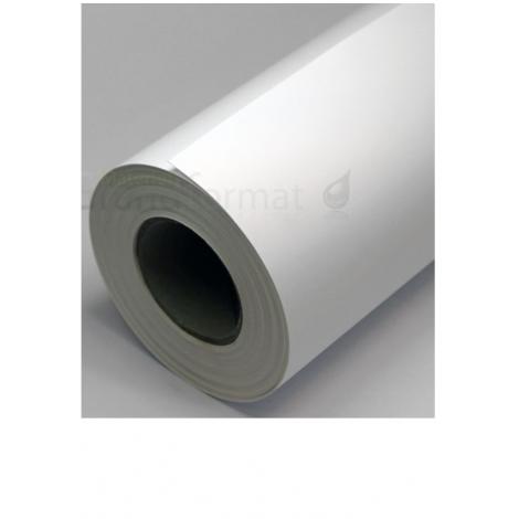 Feuille d'adhésif blanc vinyl finition mâte A4