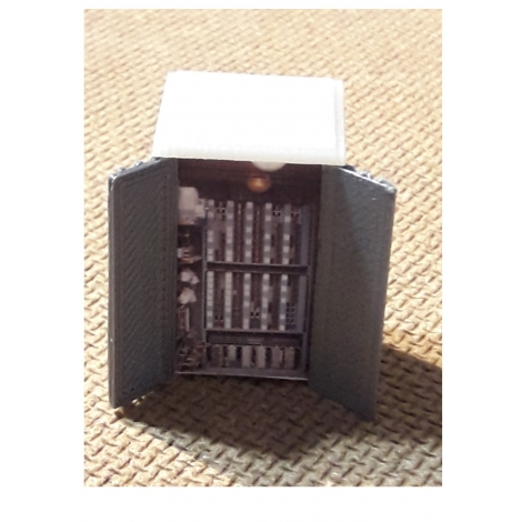 Armoire électrique passage à niveau ho 1/87