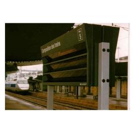 TRV 300 Tableau de Repérage des Voitures Composition des trains 1/43,5