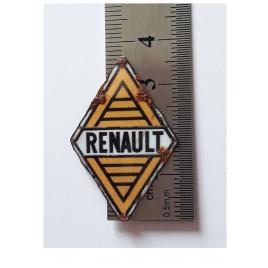 Plaque émaillée Losange Renault 1959 1/43,5-1/87