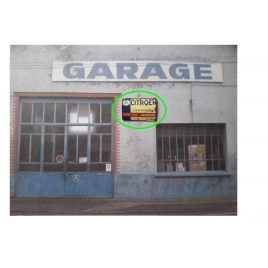 Plaque Garage Citroen Gardonne 1/43,5-1/87