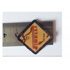 """Repro d'une plaque émaillée """" Pirelli"""" 1/43,5-1/87"""