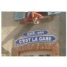 Plaques de la gare de Dracy Saint - Loup, le Train des Rêves