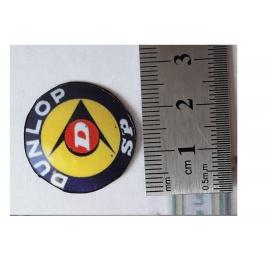 """Repro de plaque émaillée """"Dunlop mod: 1"""" - 1/87"""