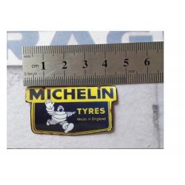 """Repro de plaque émaillée """" Michelin Bibendum Tyres"""" 1/43,5 - 1/87"""
