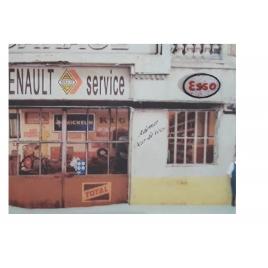 Plaque émaillée Esso, 1/87