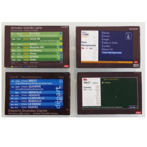 Ecrans d'information TFT 46'' Ho x 4
