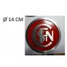 Logo Sncf entrelacé diam 14 cm
