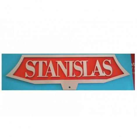 Plaque Train Stanislas