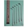 Lampadaires métalliques à leds, Ho 10 cm