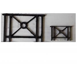 Barrières de ville,mobilier urbain x 20, 1/87, ho