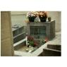 Pierre tombale inspirée de la Tombe de Jim Morrisson, échelle ho