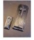 Pierre tombale inspirée de la Tombe d'Edith Piaf, échelle ho