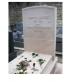 Pierre tombale inspirée de la Tombe de Simone de Beauvoir et de Jean-Paul Sartre, échelle ho