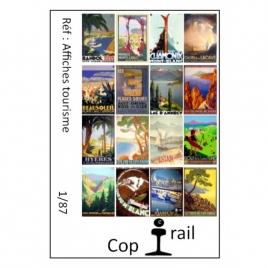 Affiches tourisme