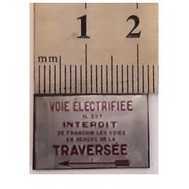 Voie électrifiée 3ème rail  Train jaune Métro Maurienne 1/43,5
