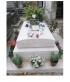Pierre tombale inspirée de la Tombe de Michel Delpech, échelle ho