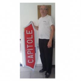 Plaque Capitole CC 6500 échelle 1