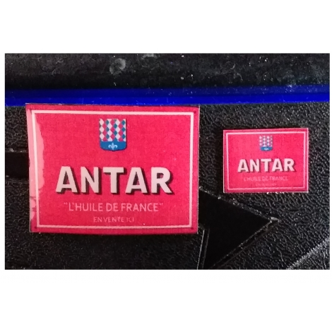 "Repro de plaque émaillée ""Antar""  - 1/87"