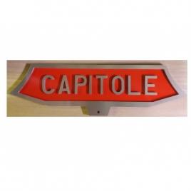 Plaque Capitole CC 6500