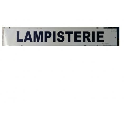 Plaque Lampisterie