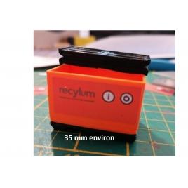 Bac recyclage tubes néons échelle Zéro