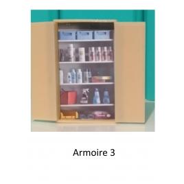 Armoire de bureau, mod 3, échelle zéro