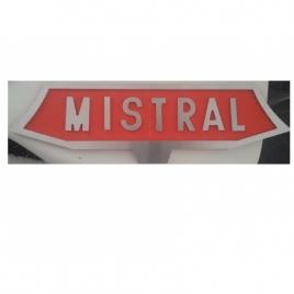 Plaque Frontale Mistral CC 6500