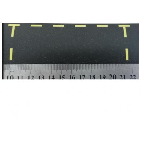8 Places de stationnement jaunes, échelle Zéro