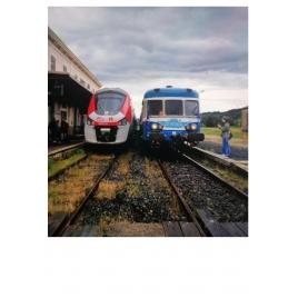 Plaque train Cévenol